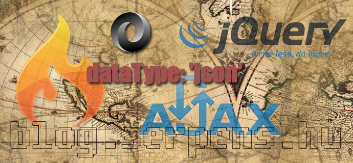 Codeigniter AJAX és JSON alapok