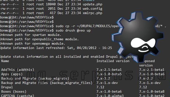 Drush telepítése SSH-n keresztül