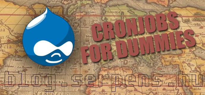 Drupal Cronjobs, avagy időzített feladatok egyszerűen